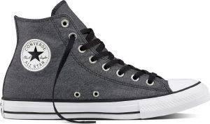 ΜΠΟΤΑΚΙ CONVERSE ALL STAR CHUCK TAYLOR HI 155386C BLACK/WHITE ένδυση ανδρασ sneakers all star μποτακι