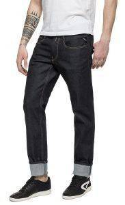 JEANS REPLAY FOREVER DARK ANBASS SLIM M914.000.87B 07 007 ΜΑΥΡΟ