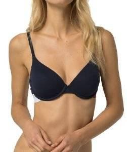 ΣΟΥΤΙΕΝ TOMMY HILFIGER T-SHIRT BRA ΣΚΟΥΡΟ ΜΠΛΕ ένδυση  amp  υπόδηση γυναικα σουτιεν t shirt bras