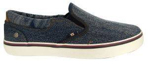ΠΑΠΟΥΤΣΙ WRANGLER LEGEND SLIP ON WASHED DENIM WM171011 ΜΠΛΕ
