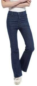 JEANS HELMI BY ANNA PRELEVIC ΚΑΜΠΑΝΑ ΜΠΛΕ ένδυση γυναικα jeans regular