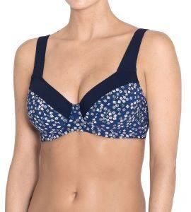 BIKINI TOP TRIUMPH SEA SHIMMER TW ΣΚΟΥΡΟ ΜΠΛΕ  γυναικα μαγιο bikini tops