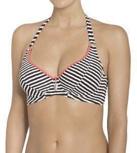 BIKINI TOP TRIUMPH OCEAN RIPPLE W ΜΑΥΡΟ  γυναικα μαγιο bikini tops