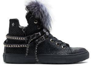 ΜΠΟΤΑΚΙ REPLAY WAVY GWZ99.021.C0003L ΜΑΥΡΟ ένδυση  amp  υπόδηση γυναικα sneakers all star μποτακι