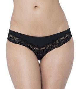 ΣΛΙΠΑΚΙ TRIUMPH LOVELY MICRO BRAZILIAN STRING ΜΑΥΡΟ