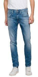 JEANS REPLAY ANBASS SLIM M914Y.000.93C 262 ΑΝΟΙΧΤΟ ΜΠΛΕ