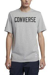 T-SHIRT CONVERSE ESSENT GRAPHICS ΓΚΡΙ ΜΕΛΑΝΖΕ (M)