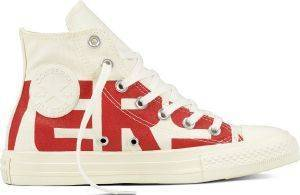 ΜΠΟΤΑΚΙ CONVERSE ALL STAR CHUCK TAYLOR HI 159532C WHITE/RED