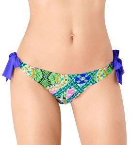 BIKINI BRIEF SLOGGI SWIM BRIGHT FANTASY TANGA ΜΩΒ-ΛΑΧΑΝΙ