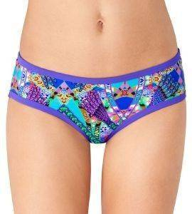 BIKINI BRIEF SLOGGI SWIM BRIGHT FANTASY HIPSTER ΜΩΒ-ΛΑΧΑΝΙ