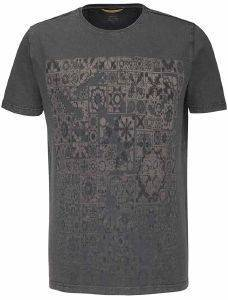 T-SHIRT CAMEL ACTIVE PRINT CD-438447-75 ΧΑΚΙ