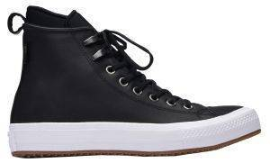 ΜΠΟΤΑΚΙ CONVERSE ALL STAR WATERPROOF LEATHER 557943C-001 BLACK/WHITE