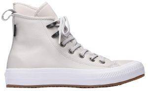 ΜΠΟΤΑΚΙ CONVERSE ALL STAR WATERPROOF LEATHER 557944C PALE PUTTY/WHITE