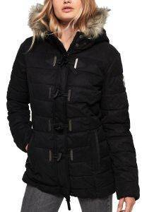 ΜΠΟΥΦΑΝ SUPERDRY PARKA MICROFIBRE TALL TOGGLE APG50006CR/02A ΜΑΥΡΟ