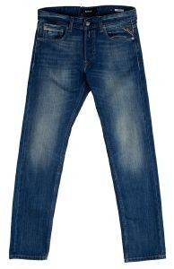 JEANS REPLAY GROVER STRAIGHT MA972.000.606.308 ΜΠΛΕ