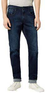 JEANS REPLAY ANBASS SLIM M914 .000.41A 603 ΣΚΟΥΡΟ ΜΠΛΕ