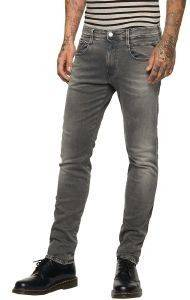JEANS REPLAY ANBASS STRAIGHT M914Y .000.573 209 ΓΚΡΙ