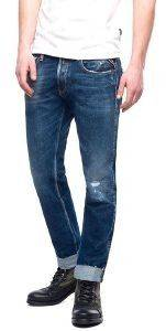 JEANS REPLAY RONAS SLIM MA946O.000.59C356T ΜΠΛΕ