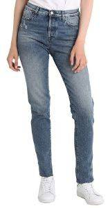 JEANS REPLAY MADDIESPA SLIM/HIGH WAIST WA647R.000.36C 187 ΑΝΟΙΧΤΟ ΜΠΛΕ