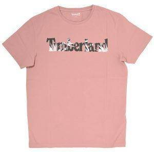 T-SHIRT TIMBERLAND KENNEBEC RIVER SEASONAL TB0A1O6B ΡΟΖ