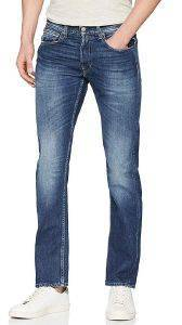 JEANS REPLAY GROVER STRAIGHT MA972 .000.174 406 ΣΚΟΥΡΟ ΜΠΛΕ