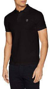 T-SHIRT POLO REPLAY M3791 .000.22450 ΜΑΥΡΟ