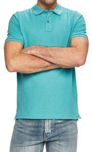 T-SHIRT POLO CAMEL ACTIVE PIQUE BASIC CD-85-118196 AQUA ΜΠΛΕ