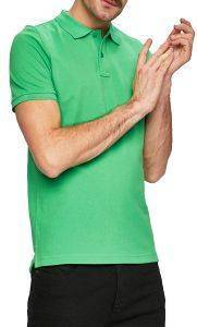 T-SHIRT POLO CAMEL ACTIVE PIQUE BASIC CD-85-118196 ΠΡΑΣΙΝΟ