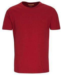 T-SHIRT CAMEL ACTIVE BASIC CD-85-118007 ΣΚΟΥΡΟ ΚΟΚΚΙΝΟ