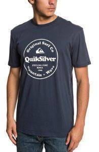 T-SHIRT QUIKSILVER SECRET INGREDIENT EQYZT05265 ΣΚΟΥΡΟ ΜΠΛΕ (S)