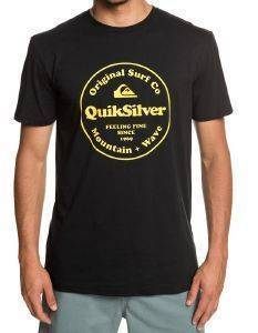 T-SHIRT QUIKSILVER SECRET INGREDIENT EQYZT05265 ΜΑΥΡΟ
