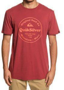 T-SHIRT QUIKSILVER SECRET INGREDIENT EQYZT05265 ΚΟΚΚΙΝΟ