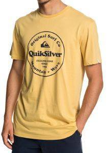 T-SHIRT QUIKSILVER SECRET INGREDIENT EQYZT05265 ΚΙΤΡΙΝΟ
