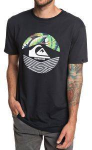 T-SHIRT QUIKSILVER STOMPED ON EQYZT05268 ΜΑΥΡΟ