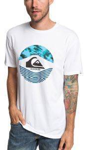 T-SHIRT QUIKSILVER STOMPED ON EQYZT05268 ΛΕΥΚΟ