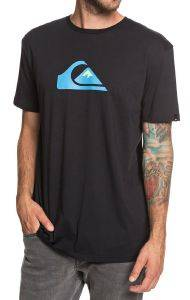 T-SHIRT QUIKSILVER M AND W EQYZT05262 ΜΑΥΡΟ