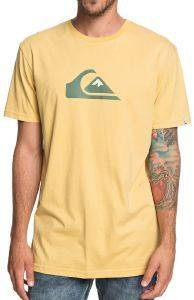 T-SHIRT QUIKSILVER M AND W EQYZT05262 ΚΙΤΡΙΝΟ