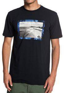 T-SHIRT QUIKSILVER THE GOLDY EQYZT05261 ΜΑΥΡΟ