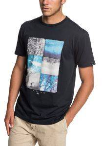 T-SHIRT QUIKSILVER PHOTO FUN EQYZT05266 ΜΑΥΡΟ