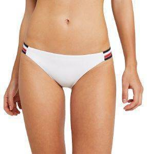 BIKINI BRIEF TOMMY HILFIGER SIGNATURE TAPE MINI UW0UW01463/145 ΛΕΥΚΟ