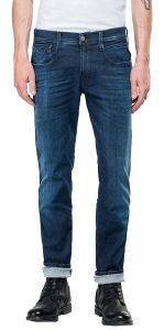 JEANS REPLAY ANBASS HYPERFLEX CLOUDS M914 .000.661 E05 ΣΚΟΥΡΟ ΜΠΛΕ