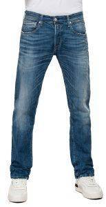 JEANS REPLAY GROVER STRAIGHT MA972 .000.573 624 ΣΚΟΥΡΟ ΜΠΛΕ