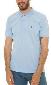 T-SHIRT POLO THE BOSTONIANS 3PS0001 ΓΑΛΑΖΙΟ