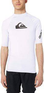 T-SHIRT QUIKSILVER ALL TIME UPF50 EQYWR03228 ΛΕΥΚΟ