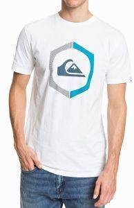 T-SHIRT QUIKSILVER SURE THING EQYZT05762 ΛΕΥΚΟ