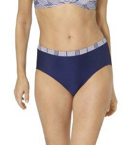 BIKINI BRIEF TRIUMPH SUMMER WAVES MIDI TALL ΣΚΟΥΡΟ ΜΠΛΕ