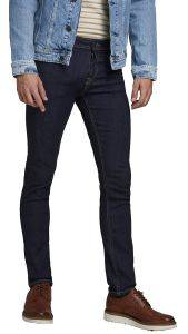 JEANS JACK & JONES JJIGLENN JJORIGINAL SLIM 12174579 ΣΚΟΥΡΟ ΜΠΛΕ