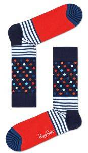 ΚΑΛΤΣΕΣ HAPPY SOCKS STRIPES AND DOTS SDO01-6500 (41-46)