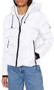 ΜΠΟΥΦΑΝ SUPERDRY SPIRIT SPORTS PUFFER W5010286A ΛΕΥΚΟ