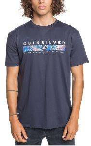 T-SHIRT QUIKSILVER JUNGLE JIM EQYZT06059 ΣΚΟΥΡΟ ΜΠΛΕ